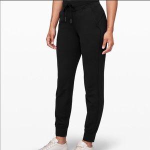 Lululemon High Waisted Black Jogger Pants